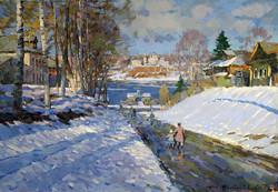Alexander Shevelev - Spring. Tutayev. Descent to the Volga