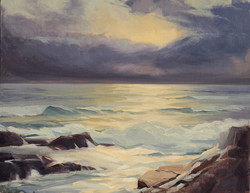 Olena Babak - High Tide in Kennebunkport