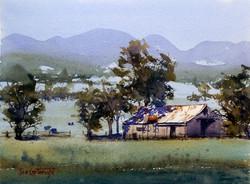 Joe Cartwright - Australian Farm Scene, Quirindi