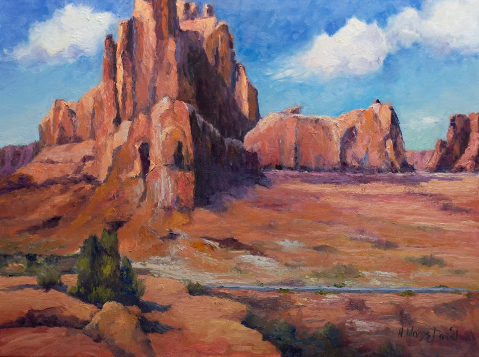 Nancy Woods Daniel - Red Rocks of Arches National Park