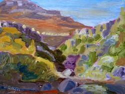 Georgie Rey - Bainskloof Pass, Sun Going Down