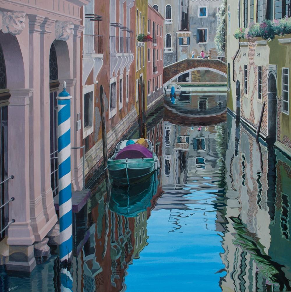 Freda Surgenor - Sunny Reflections, Venice