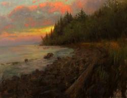 Devin Roberts - Twilight Along the Upper Coast