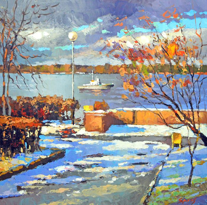 Dmitry Spiros - On the Waterfront