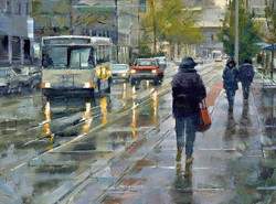 Desmond O'Hagan - Early Fall Rain, Downtown Denver