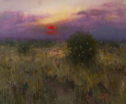 Devin Roberts - Sunrise Over the Grassland