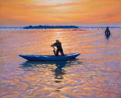 John Hulsey - The Burano Rower