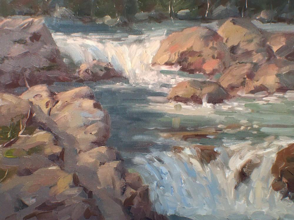 Igor Staritsin - Lynn Creek (study)