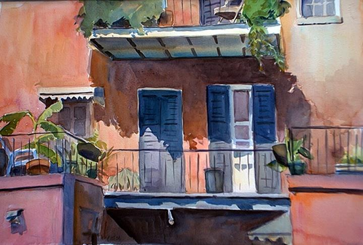Joan DaGradi - A Beautiful Day in the French Quarter