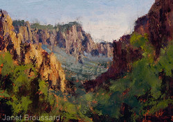 Janet Broussard - Distant Buttes, Big Bend