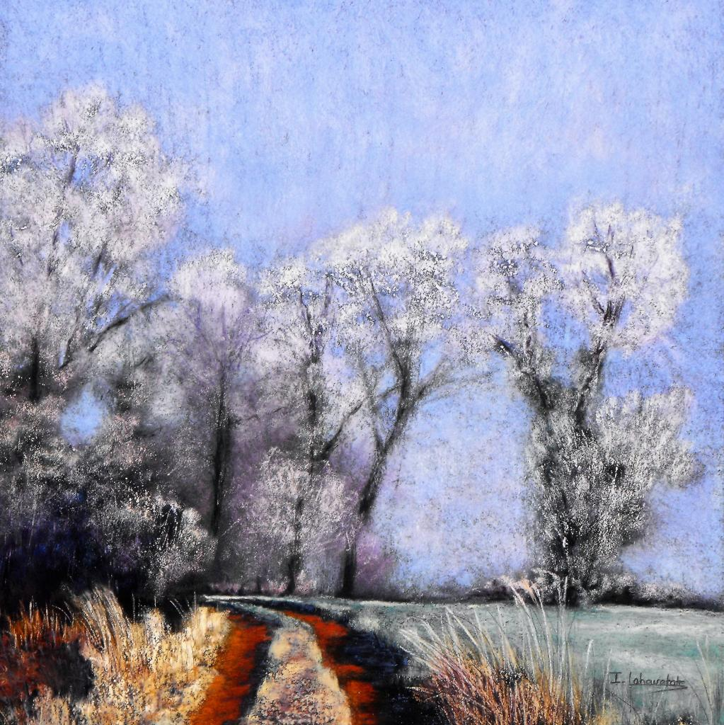 Isabelle Lahouratate - Frosty Walk