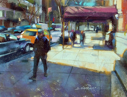 Desmond O'Hagan - NYC Sidewalk