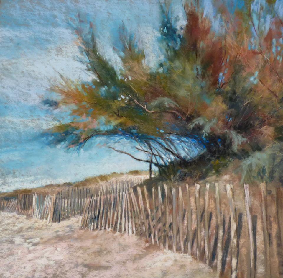 Marjorie Vincent - Tamaris in Autumn