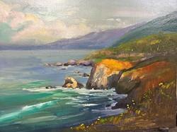 JoAnne Wood Unger - Big Sur Vantage Point