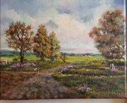 Ina Millman - Roadside Flowers
