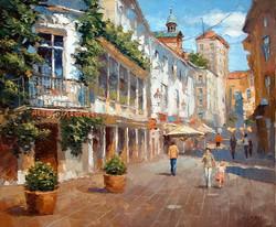 Dmitry Spiros - Street in Baden Baden