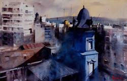 Alvaro Castagnet - Blue Tower