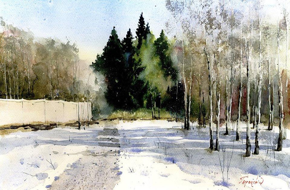 Vladimir N. Tuporshin - Spring Coming