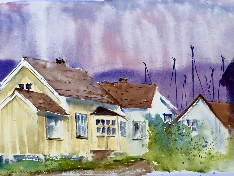 Lena Thynell - Mollosund at Dawn