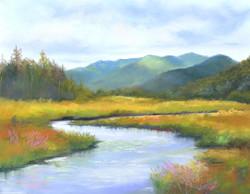 Susan Whiteman - Saranac River View