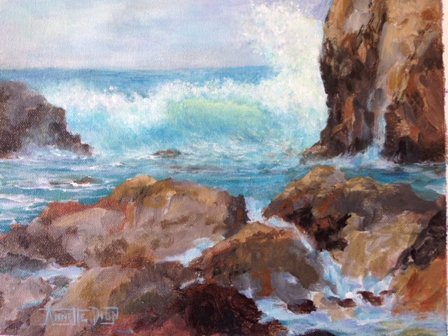 Annette D McGowan - Rocky Point Splendor