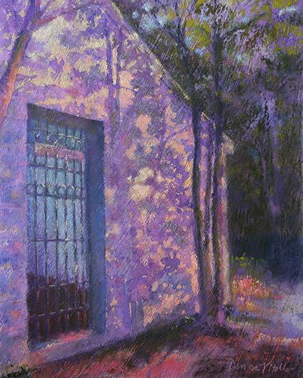 Denise Vitollo - Spring House II (pastel)