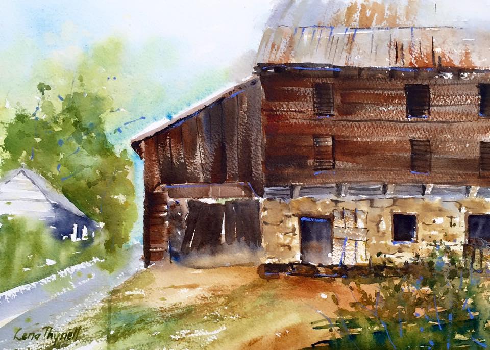 Lena Thynell - Dutch Bunk Barn