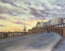 Mike Samson - Evening Light, Ramsgate