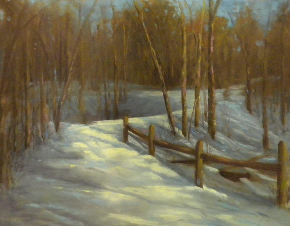 Jean Gauld-Jaeger - Softly Fallen Snow