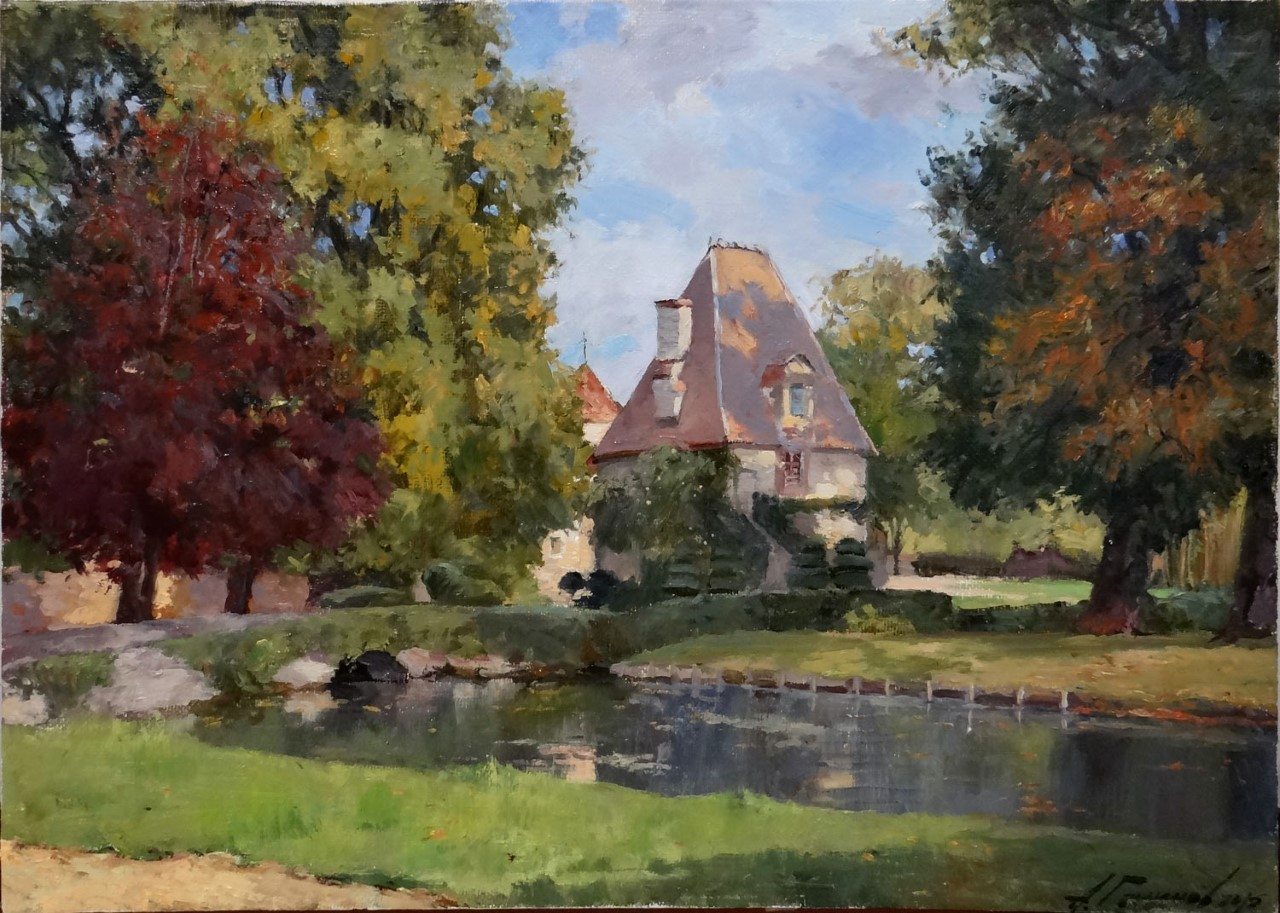 Azat Galimov - Autumn in the Ene-le-Vieil