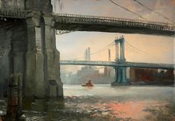 Keith Gunderson - Under the Brooklyn Bridge