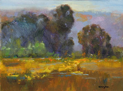 JoAnne Wood Unger - Golden Meadows,  study 1