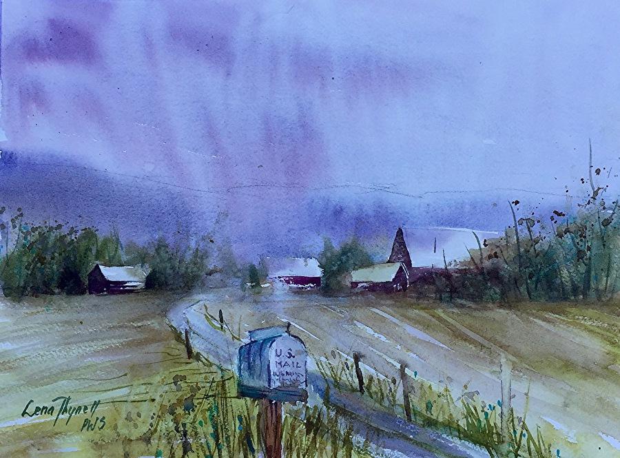 Lena Thynell - A Rainy Day
