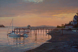 Josh Adam - Twilight, Castine Harbor