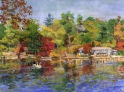Ramona Dooley - Cabin Lake