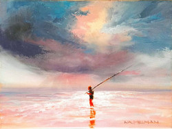 Ina Millman - Lone Fisherman