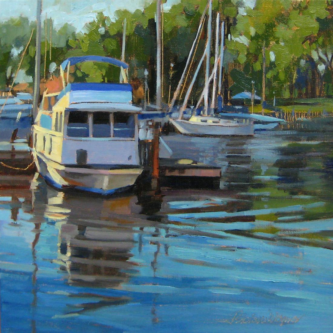 Jill Stefani Wagner - Yacht Club Reflections