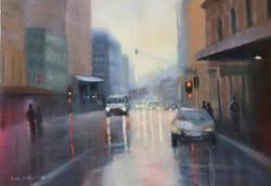 Ina Millman - Cityscape (oil)