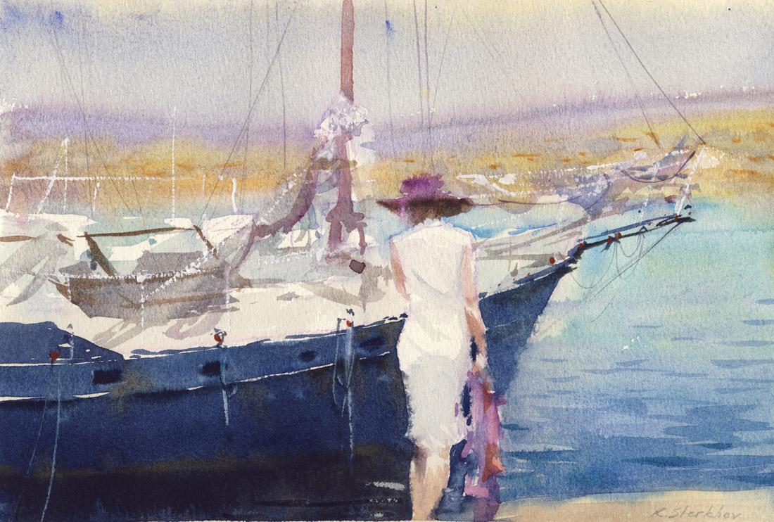 Konstantin Sterkhov - White Dress