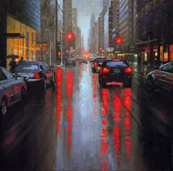 Gavin Glakas - Rain on Madison Avenue