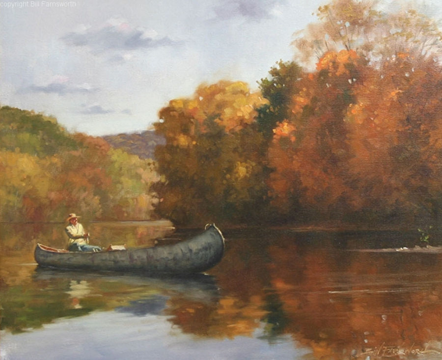 Bill Farnsworth - Good Day on the River