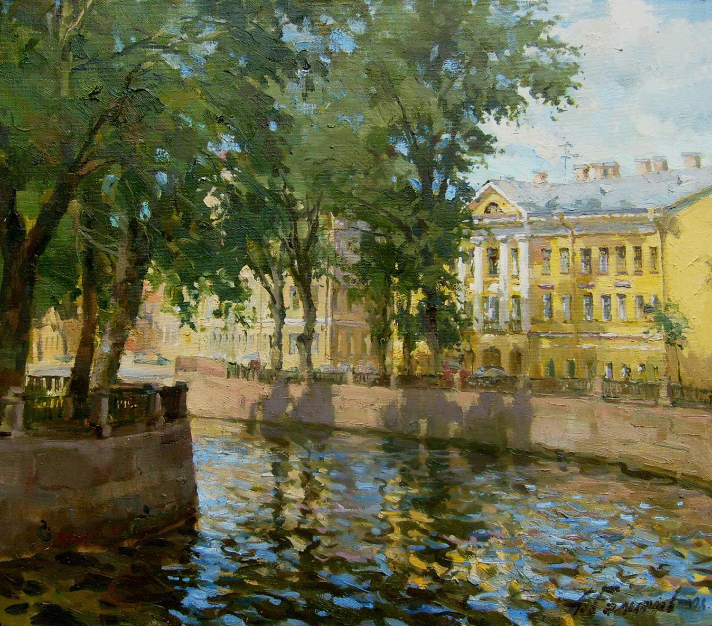 Azat Galimov - Griboedov Canal on a Sunny Day