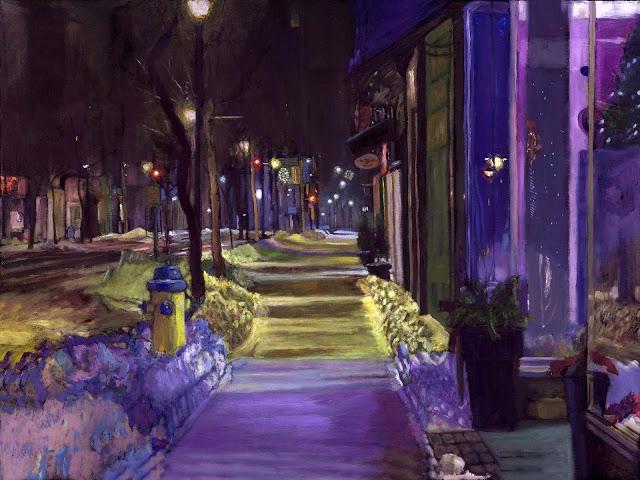 Jesus Estevez - Purple Night, Belleville