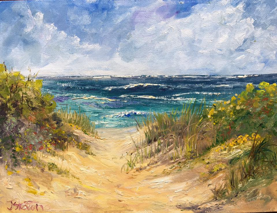 Julia Norton Stevens - Beach Path