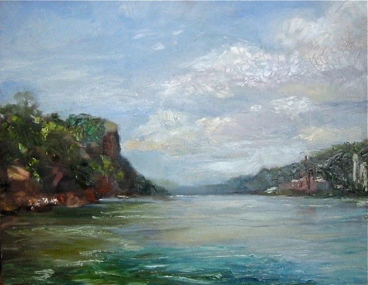 Carmen Corrigan - View of Hudson