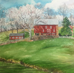 Jane Ramsey - Rolling Hills Road Farm, Bedminster Township, Bucks County, PA