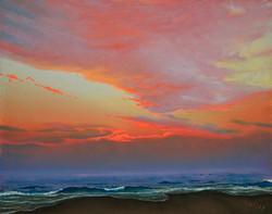 John Hulsey - Lifting Fog at Sunrise