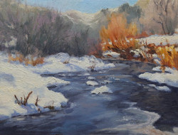 Pat Carney - Winter Willows