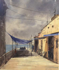 Mark Price - Storm on Malecón Havana