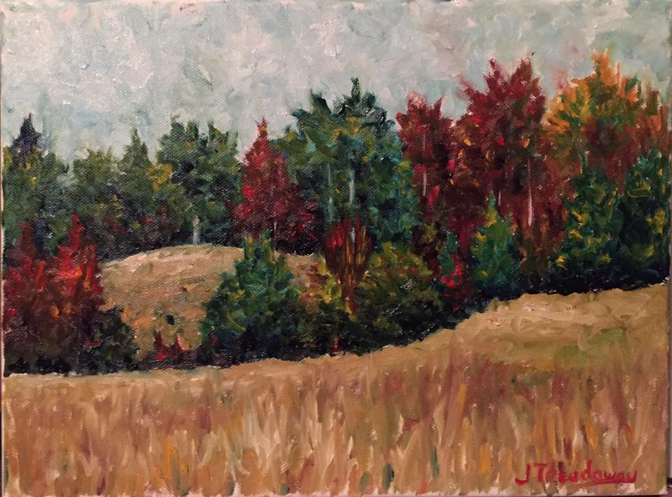 Justin Treadaway - Autumn Trees